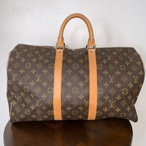 Authentic LV keepall 45 travel Hand bag